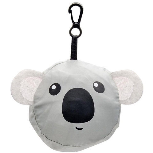 Koala Reusable Bag with Clip