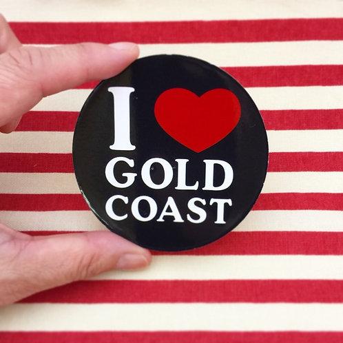 I Love Gold Coast sticker