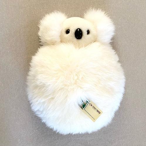 Koala | Wool sheepskin pyjama case cushion