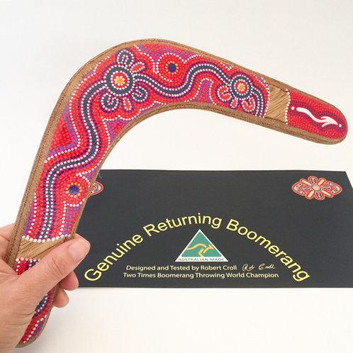 Genuine returning boomerang / Australian Made