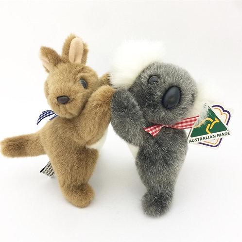 Australian Made / Koala & Kangaroo Toy ( S )