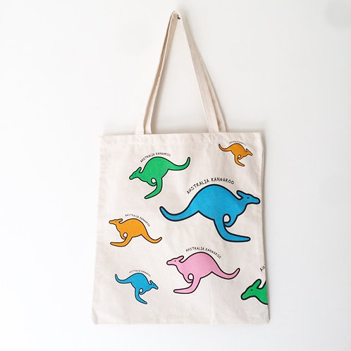 Eco Bag / Australia Hopping Kangaroo