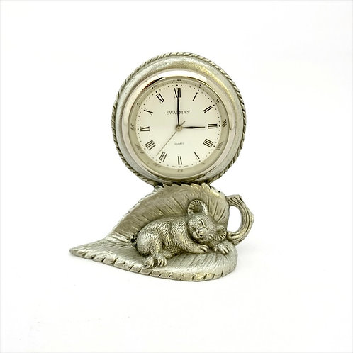 Sleeping Koala Clock / Australian Made