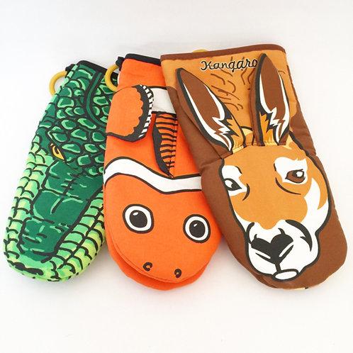 Australian animal kitchen mitten
