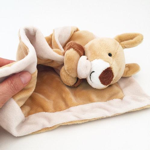 Super soft  rattle blankie / koala or kangaroo