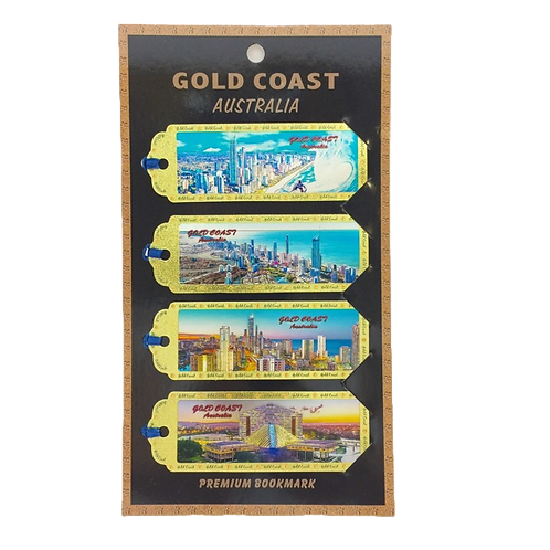 Gold Coast book marks / set of 4