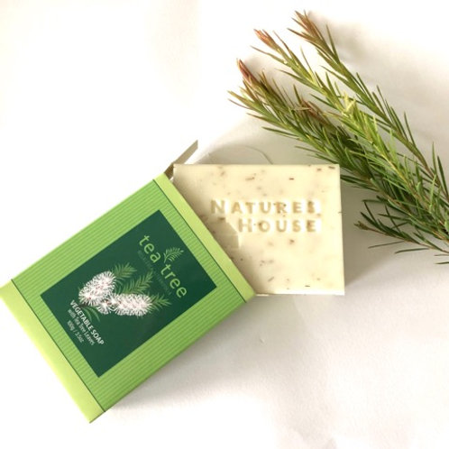 Tea Tree Vegetable Soap 100g