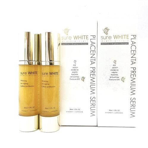 Sure White Placenta Premium Serum 50 ml x 2 / Australian Made