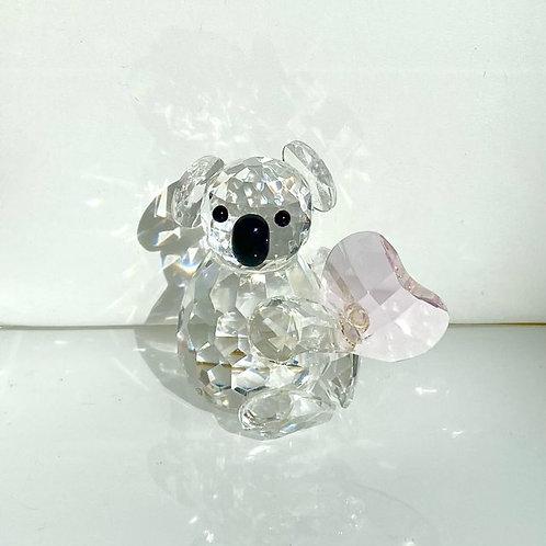 Crystal Koala with Heart