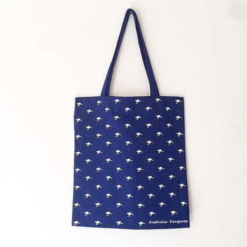Eco Bag / Australian Kangaroo / Navy