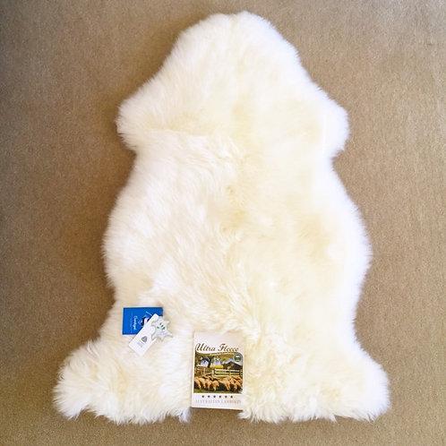 Sanitized Sheepskin Rug  / White 100 cm x 60 cm