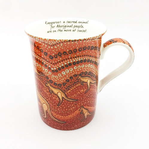 Deamtime Stories / Kangaroo Sunset Mug