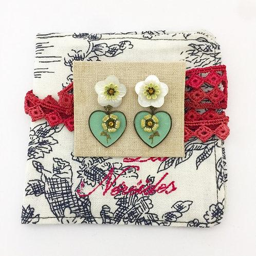 Les Nereides / Flower Earrings