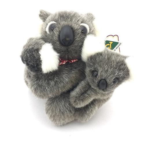 Australian Made / 3 koalas Family Toy 19cm
