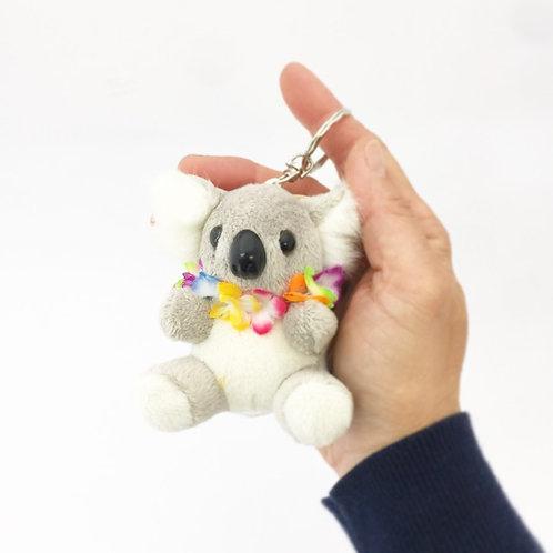 Koala with flower keyring