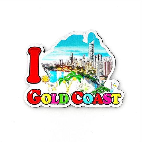 I Gold Coast  Magnet