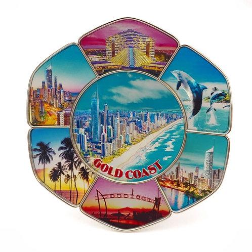 Gold Coast hexagon plate