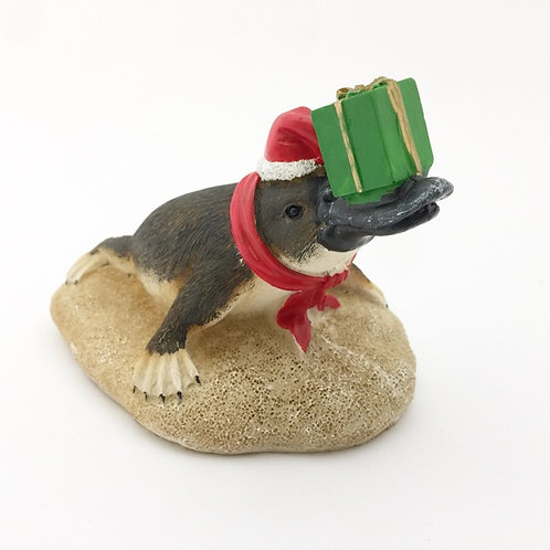 Platypus Christmas Figure