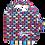 Thumbnail: Foldawayreusable bag with clip / Australian Animals