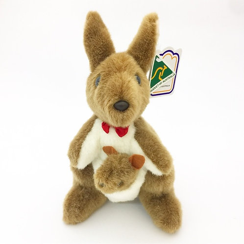 Australian Made / Kangaroowith joeysoft toy