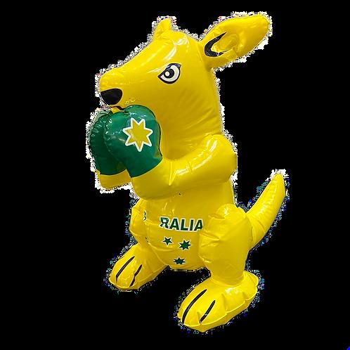 Aussie Supporter Inflatable Kangaroo / S
