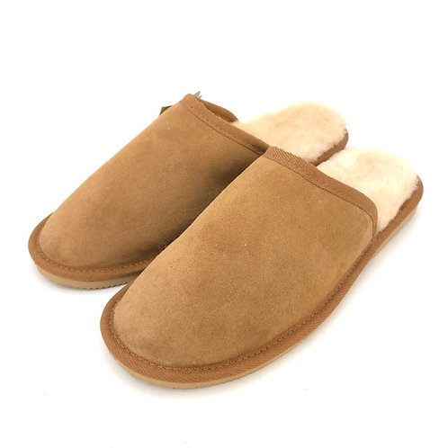 Men's Water Resistance Sheepskin Slippers / Size 8 and 10