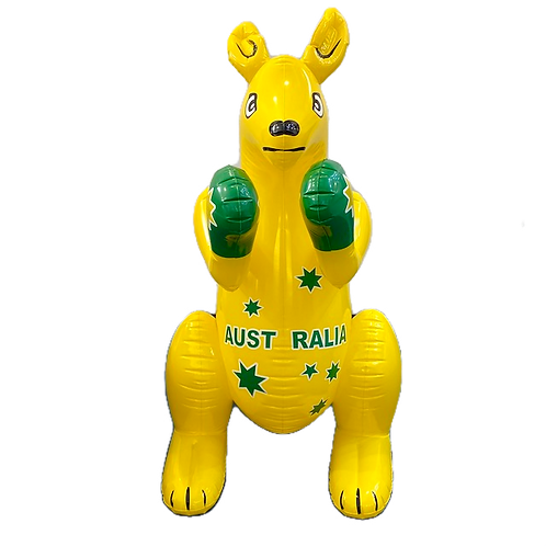 Aussie Supporter Inflatable Kangaroo / L