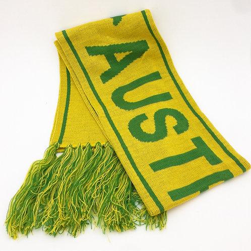 AUSTRALIA green / gold Scarf