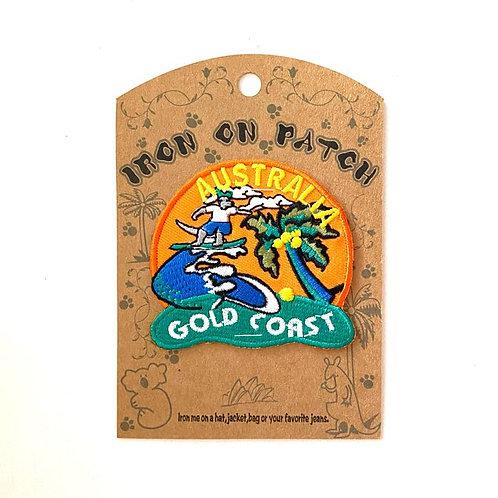 Gold Coast Iron on patch