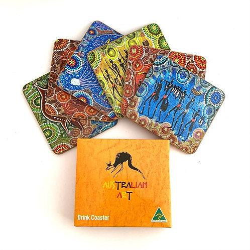 Set of 6 Drink Coasters | Australian Made