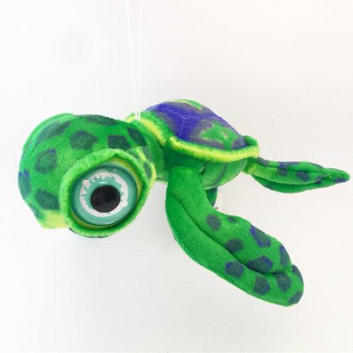 Big eyes green turtle soft toy