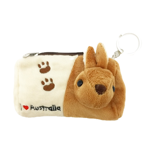 3D Koala or Kangaroo pouch with keyring