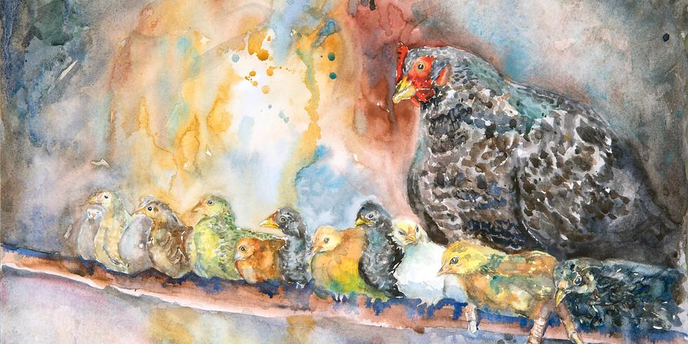 Joyful Artist Quest: Happy Dance Watercolor