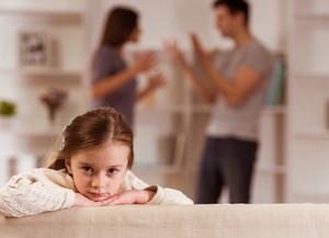 Come vedono i figli la separazione dei propri genitori?