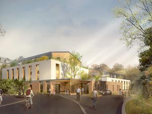 109 logements en résidence sénior et étudiante, CHRS, crèche et locaux d'activité  À Bures-sur-Yvette (91)