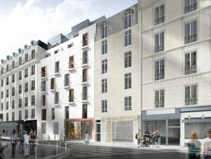 71 logements en foyer de jeunes travailleurs à Paris 17ème (75)