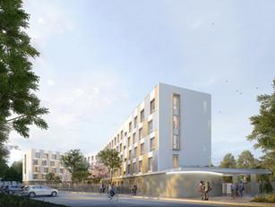 180 logements en résidence sociale à Mante-la-Jolie (78)