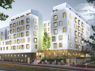 151 logements étudiants et une résidence sociale à Cergy (95)