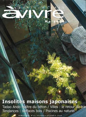 ARCHITECTURE À VIVRE – N°33 – NOVEMBRE-DÉCEMBRE 2006