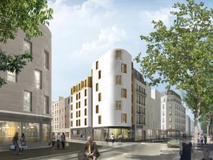 41 logements en résidence sociale & un commerce à Paris 18ème (75)