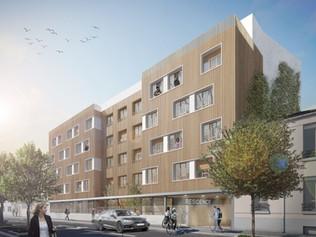 104 chambres étudiantes et 52 logements BBC à Montreuil (93)