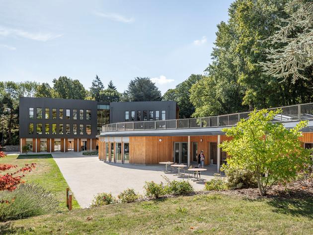 Construction de bureaux à Ecouen (95)