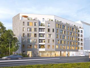 46 logements et un commerce à Asnières-sur-Seine (92)