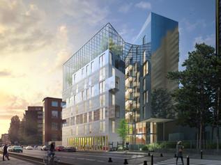 35 logements + Serre écologique à Paris (75)