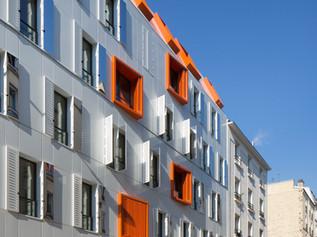 17 logements BEPOS rue Guénot à Paris (75)