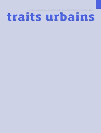 TRAITS URBAINS