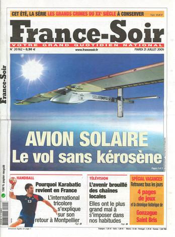 FRANCE SOIR – N°20162 – 21 JUILLET 2009