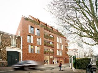 38 logements + Locaux d'activités à Montreuil (93)