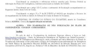 ALERTA Nº 381/2020 TCE