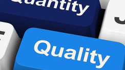 Material Master Data: Quantity vs. Quality